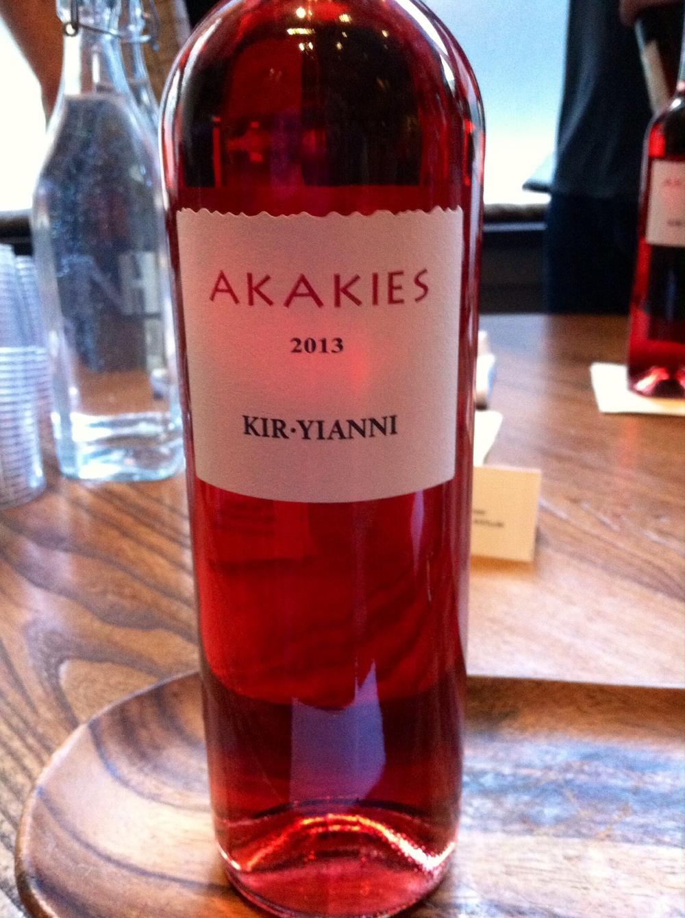 Akakies, Kir-Yianni, Greece, 2013. Photo by Shana Sokol, Shana Speaks Wine.