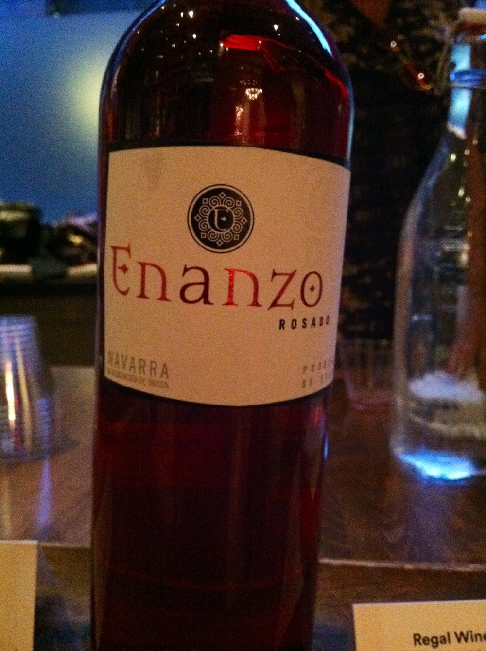 Enanzo, Rosado, Garnacha, Spain, 2013.  Photo by Shana Sokol, Shana Speaks Wine