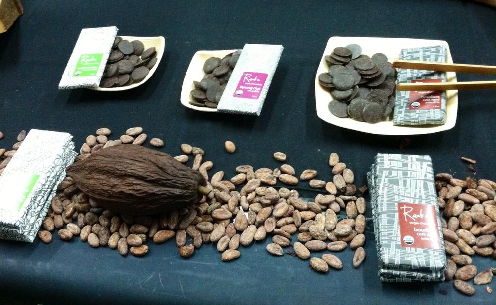Raaka Chocolates. Photo by Shana Sokol, Shana Speaks Wine.