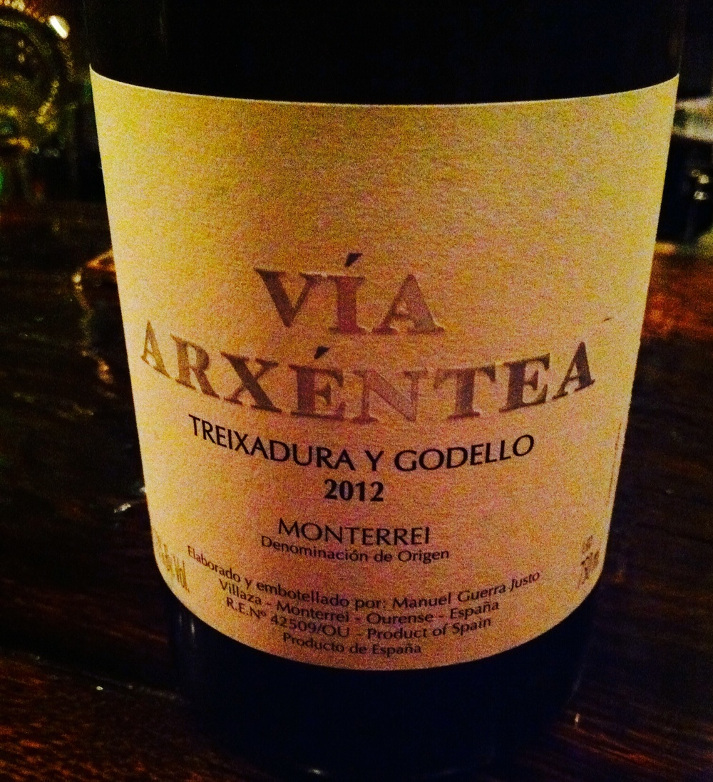 Via Arxentea, Treixadura and Godello, Monterrei, Spain, 2012.  Photo by Shana Sokol, Shana Speaks Wine.