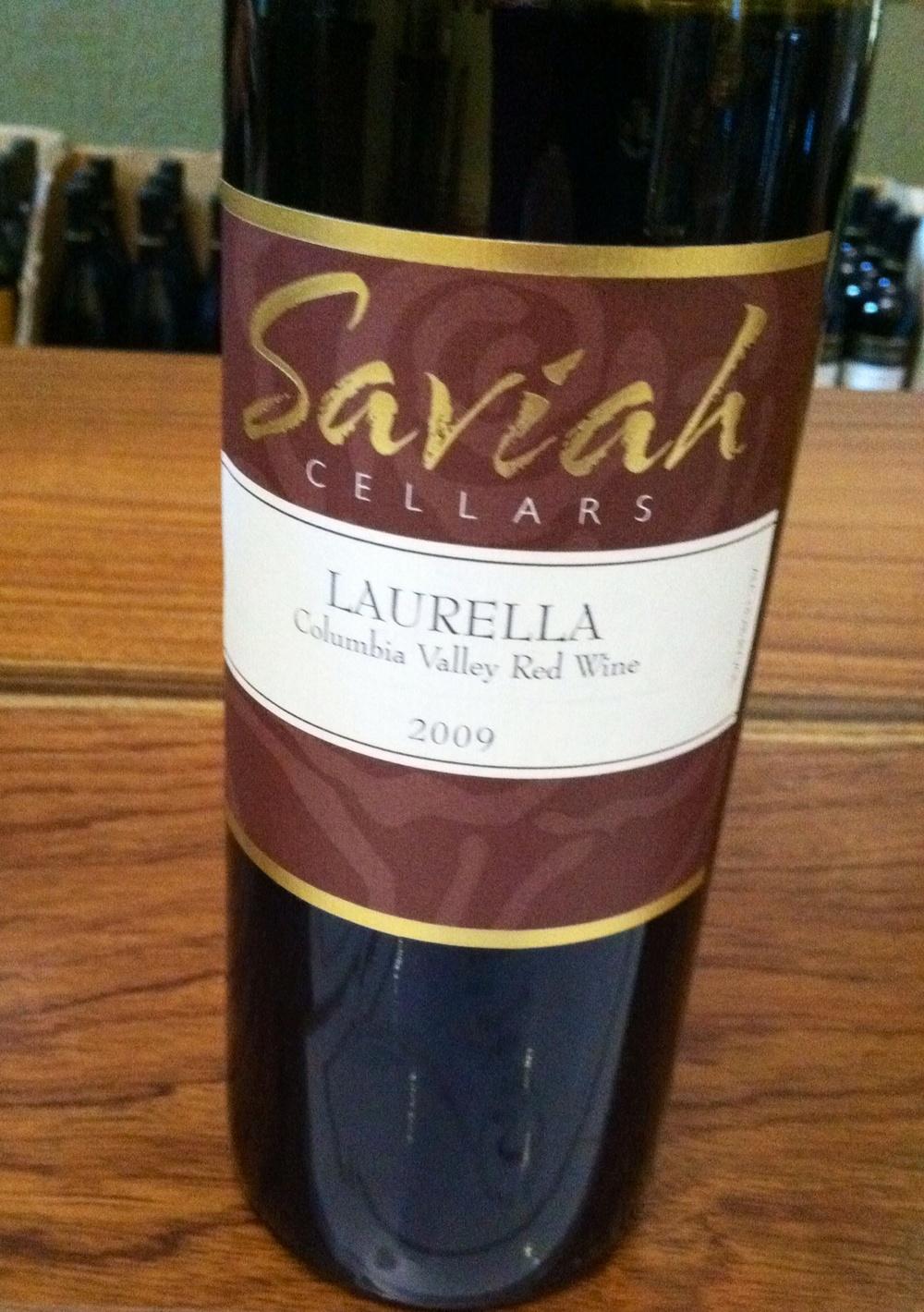 Saviah Cellars Laurella. Photo by Shana Sokol, Shana Speaks Wine.