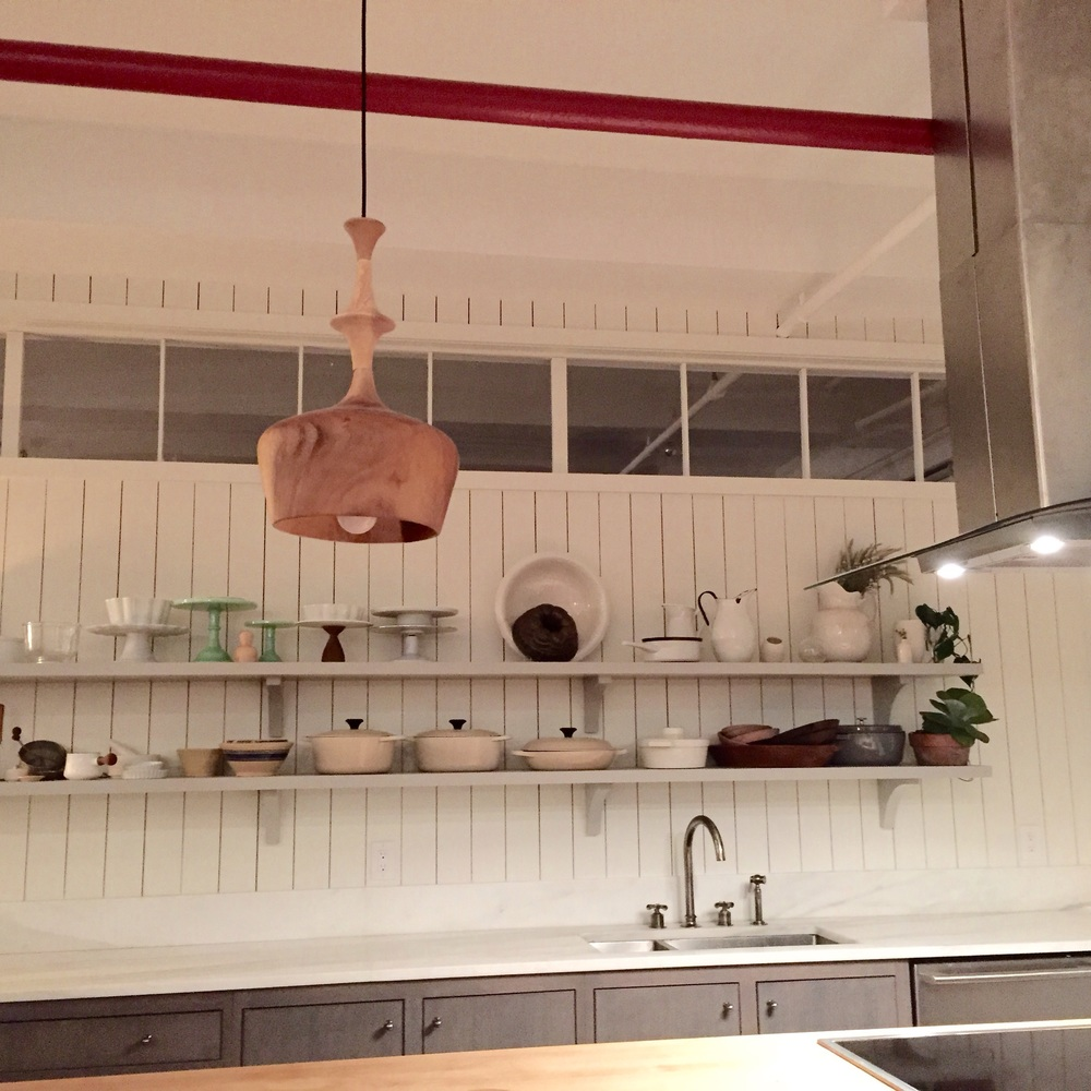 The stunning Food52 Kitchen.  Photo by Shana Sokol, Shana Speaks Wine.