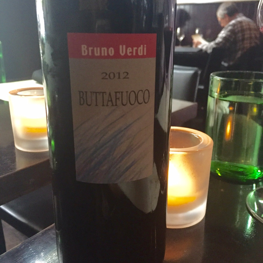 Bruno Verdi, Buttafuoco,Lombardy, 2012.  Photo by Shana Sokol, Shana Speaks Wine.