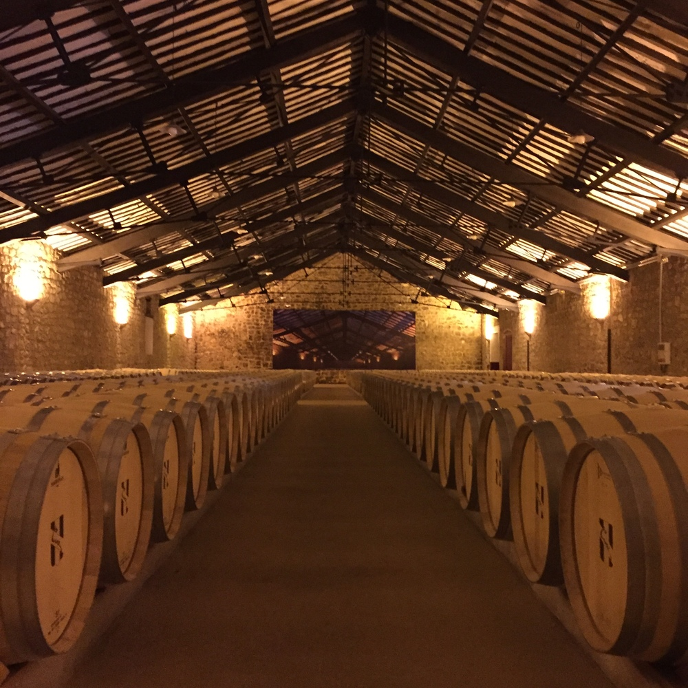 Barrels at CUNE, Rioja