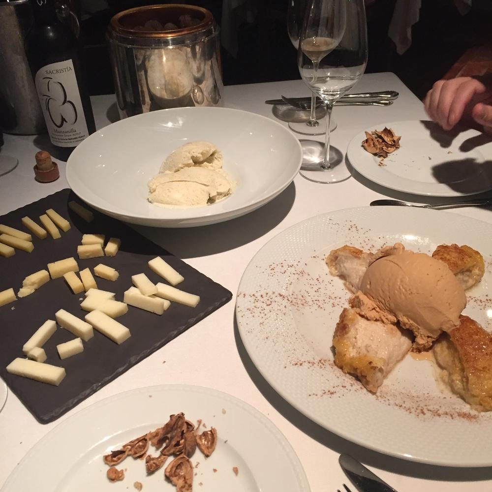 dessert overload in Logrono