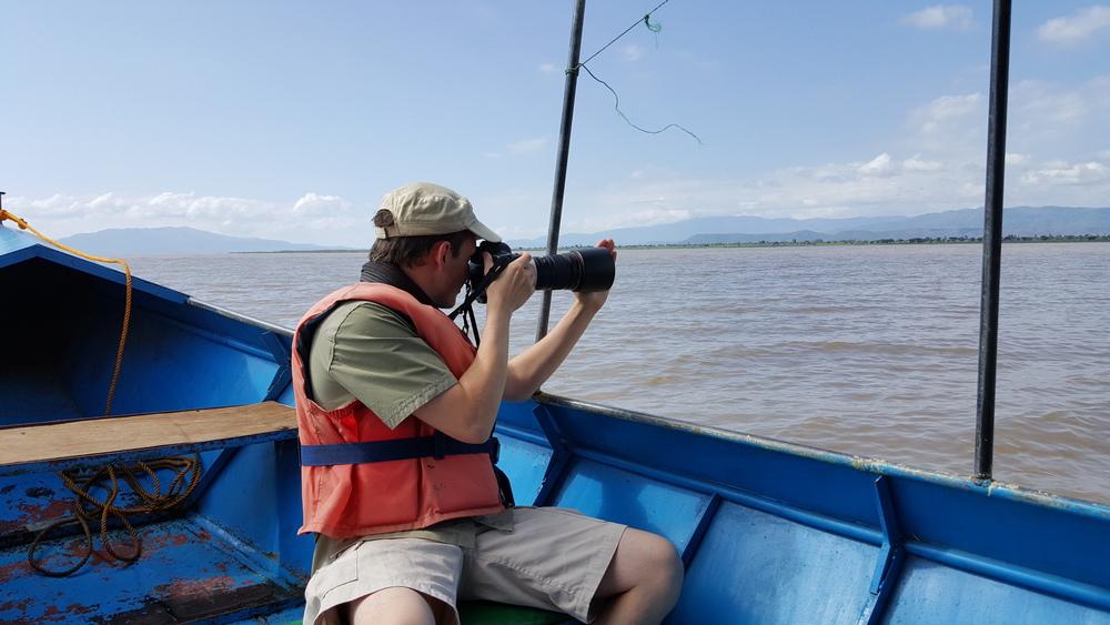 Me shooting at Lake Chamo