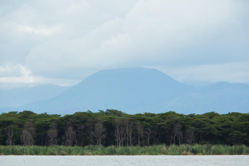 Symmetric view as seen from Lake Chamo