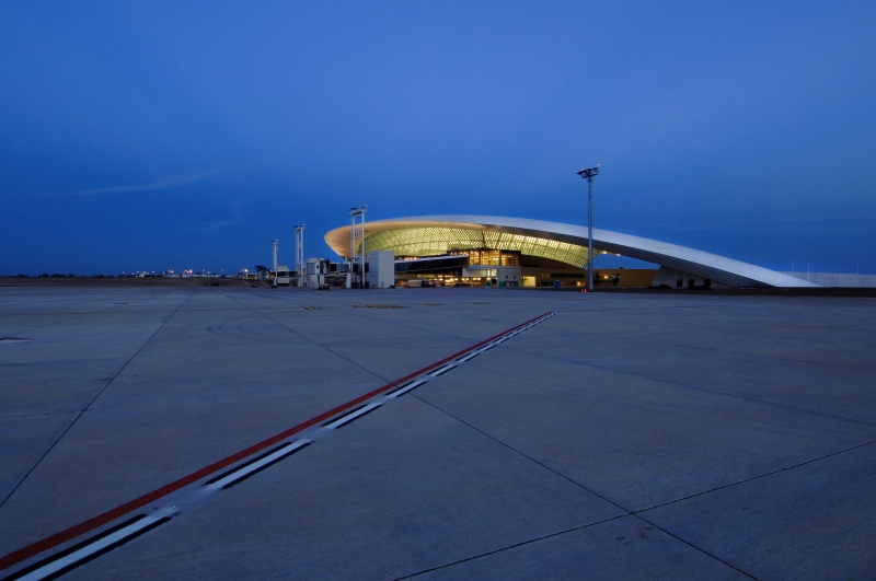 carrasco airport I  rafael viñoly architects I  ©danielamacadden