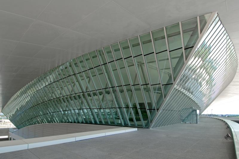 carrasco airport I arch. rafael viñoly architects I ©danielamacadden