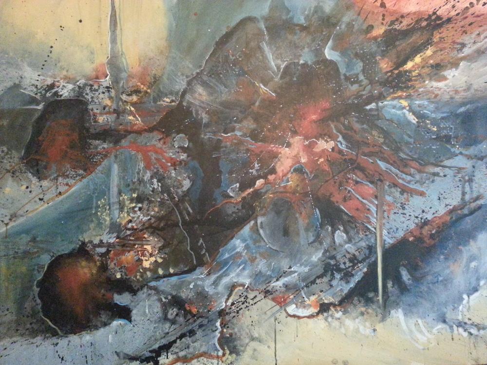 Ryoan motion II (Center piece)