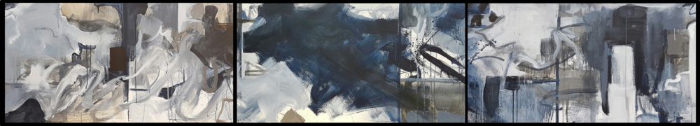Abstract -triptych