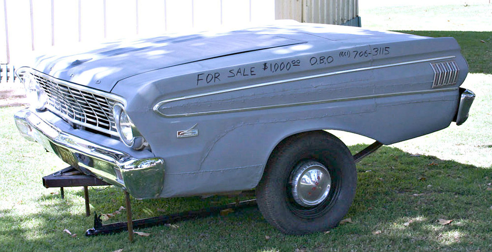 Original trailer for the '65 Ranchero.