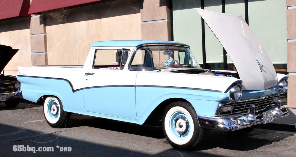 1957 Ford Ranchero Belmont Shore Car Show 2013