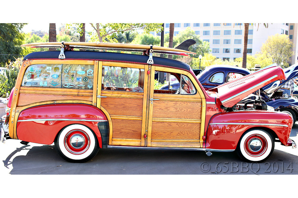 Woodie: Grand National Roadster Show 2014