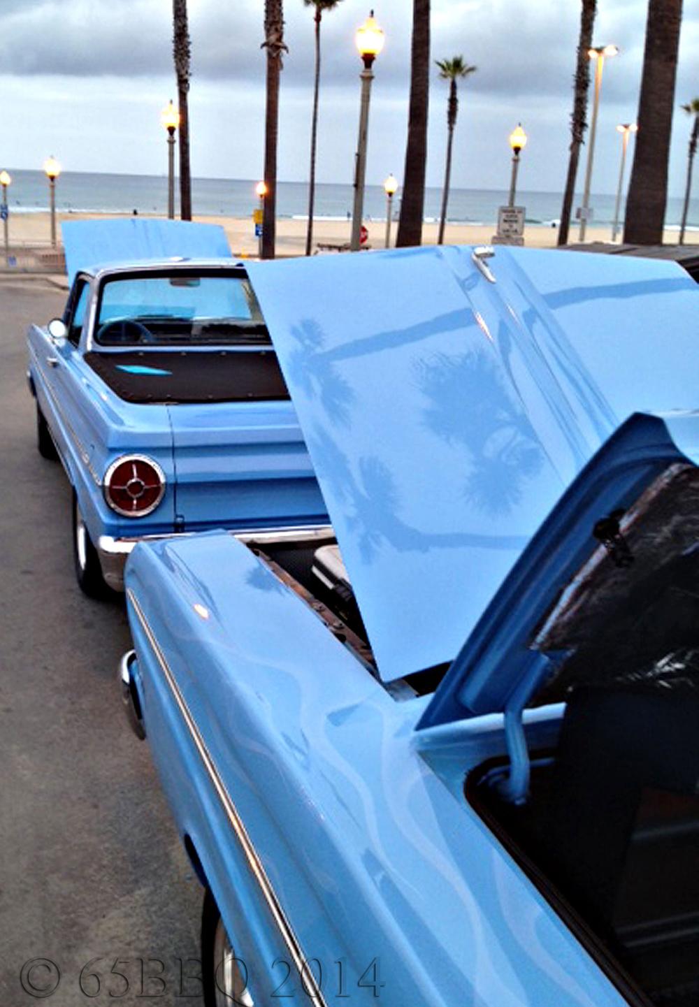 The Ranchero & the Blue Q Beachcruiser Car Show 2014