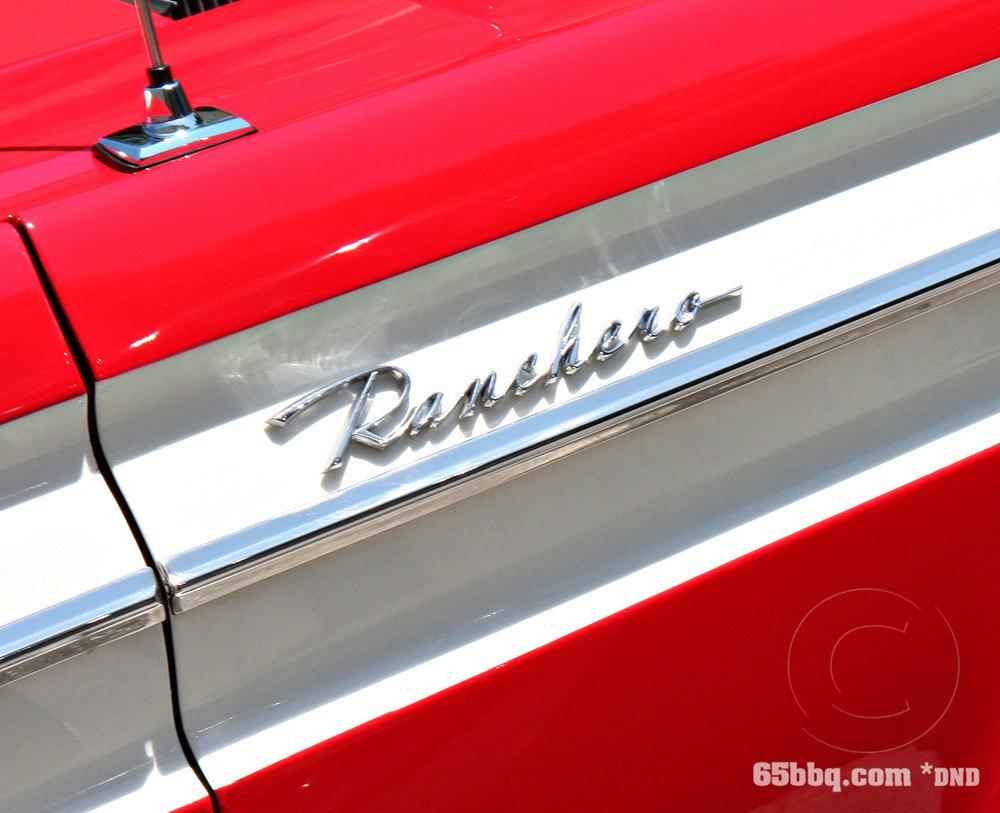 Ranchero Emblem Burbank Classic Car Show 2013