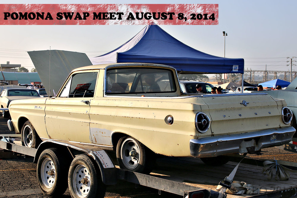 Pomona Swap Meet August 8 2014