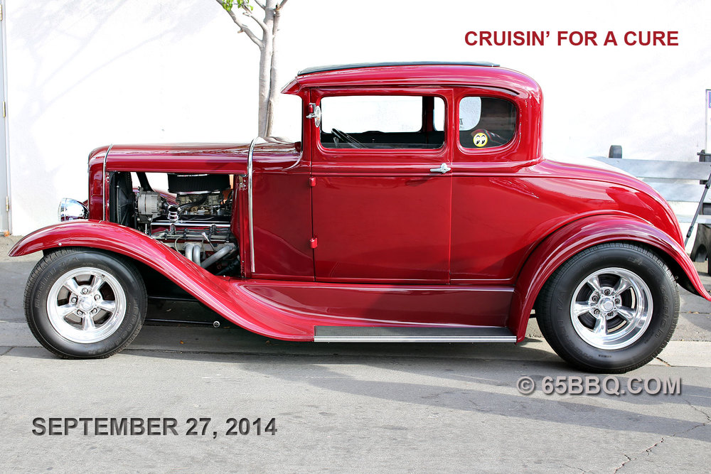 Cruisin for a Cure 2014 65bbq