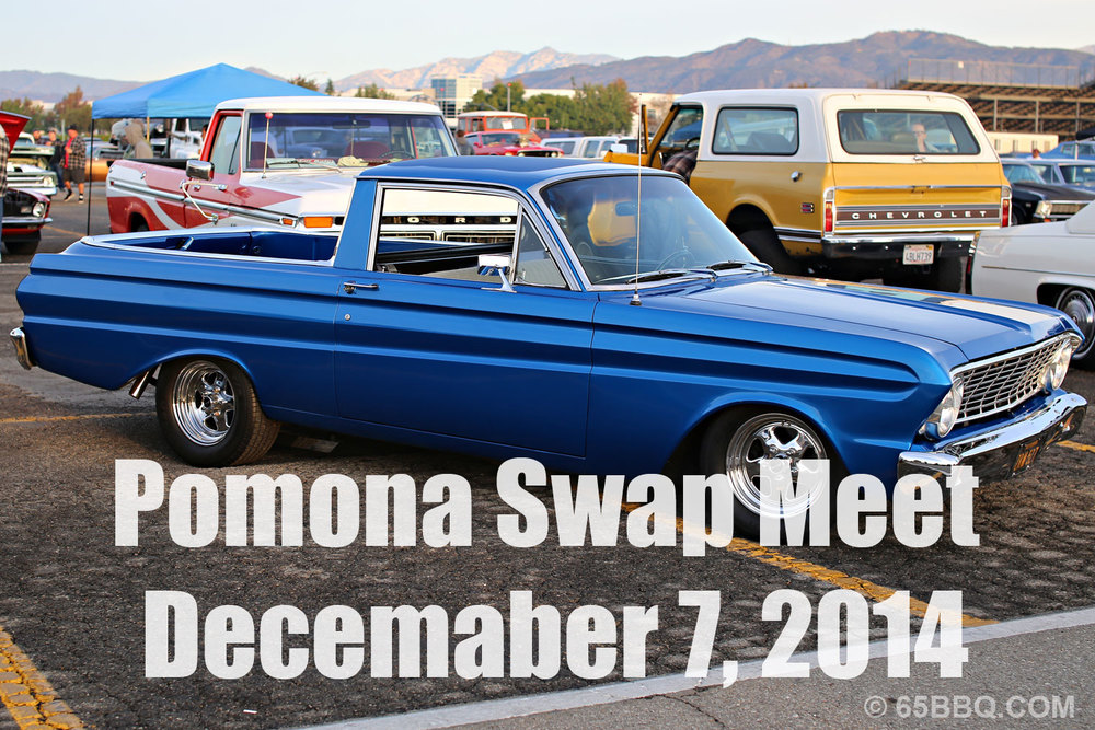 Pomona Swap Meet December 7, 2014