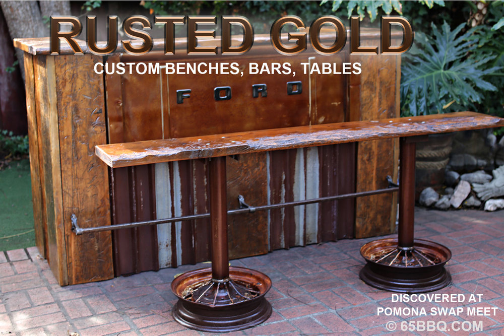 Rusted Gold: Bar & Bench 65bbq