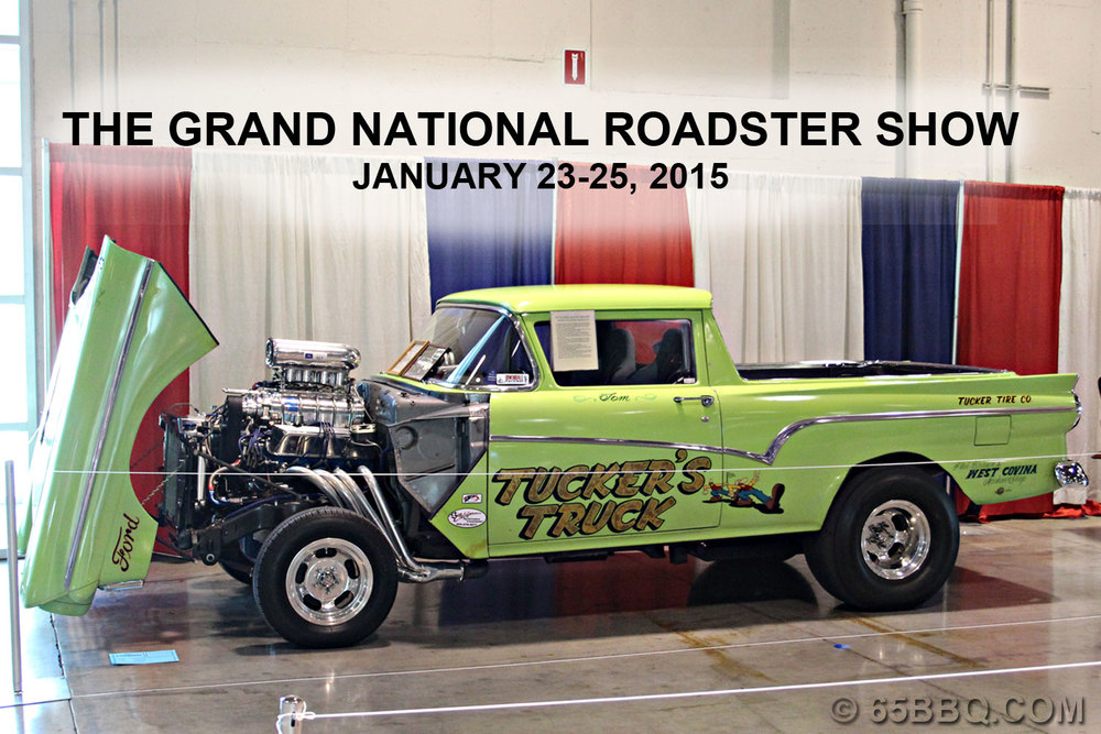 The Grand National Roadster Show January 2015 65bbq