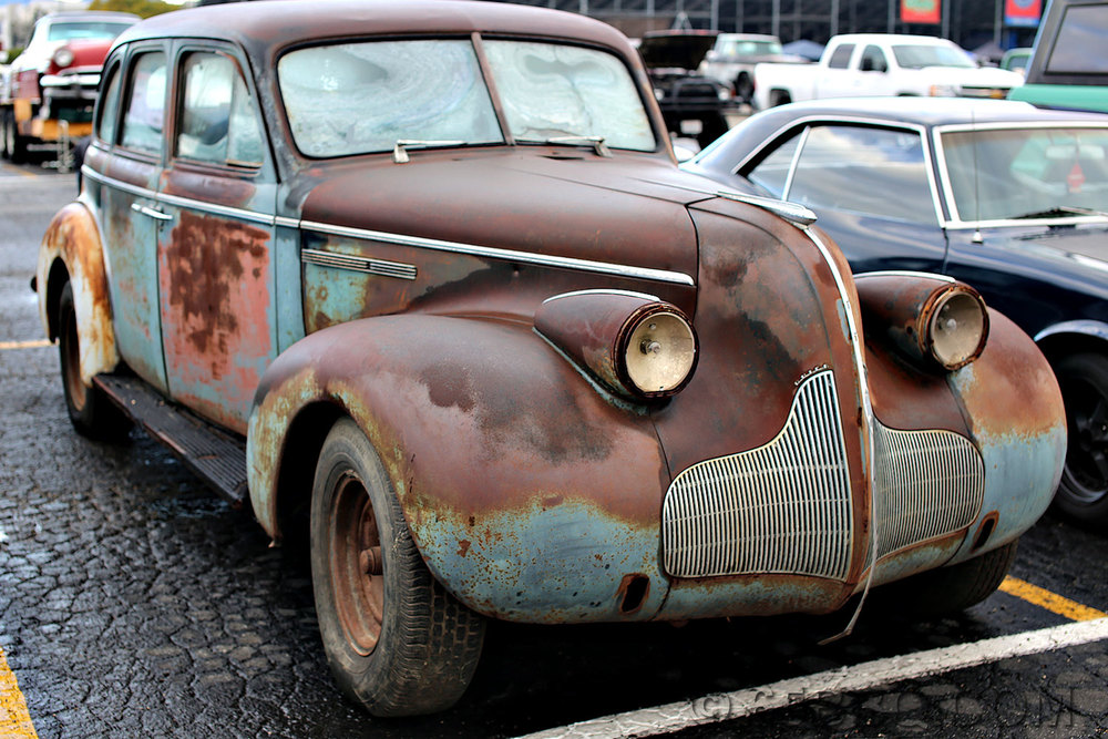 a little rust Pomona Swap Meet