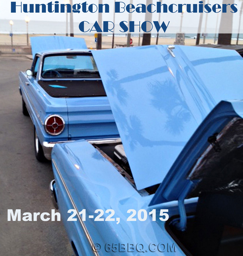Huntington Beach Carshow 2015