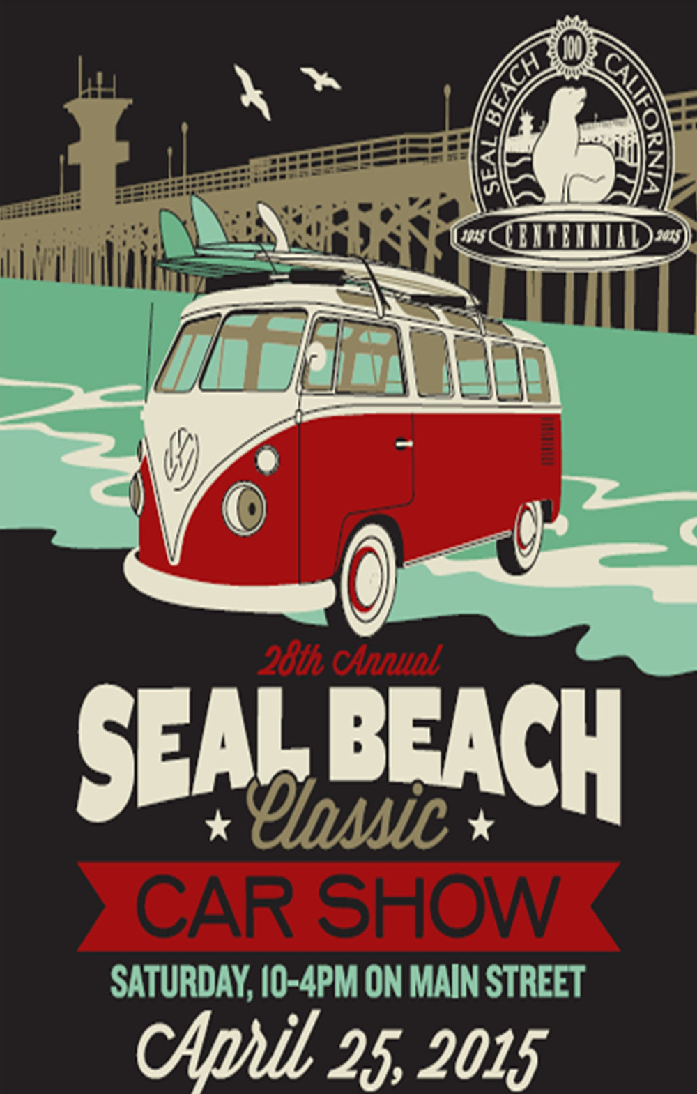 Seal Beach Classic Car Show April 25, 2015