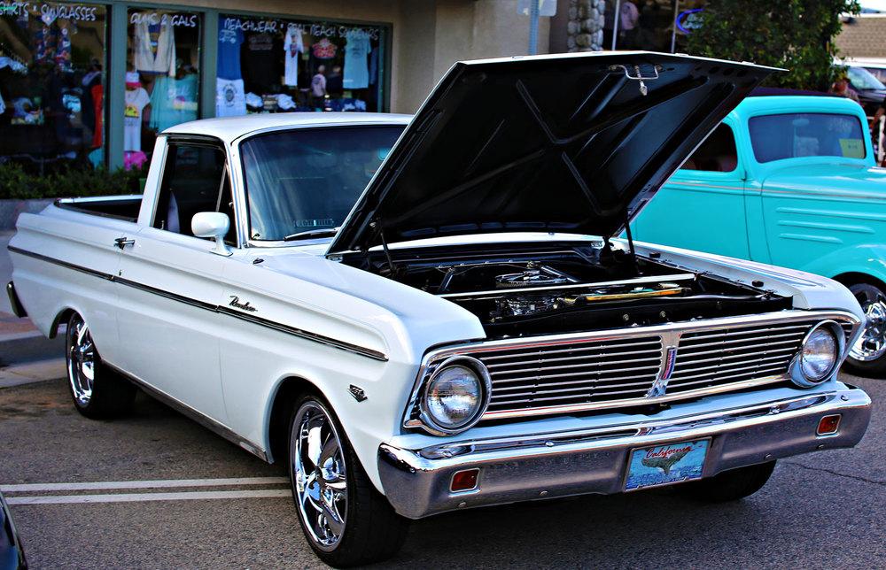 65 Ranchero Seal Beach Car Show