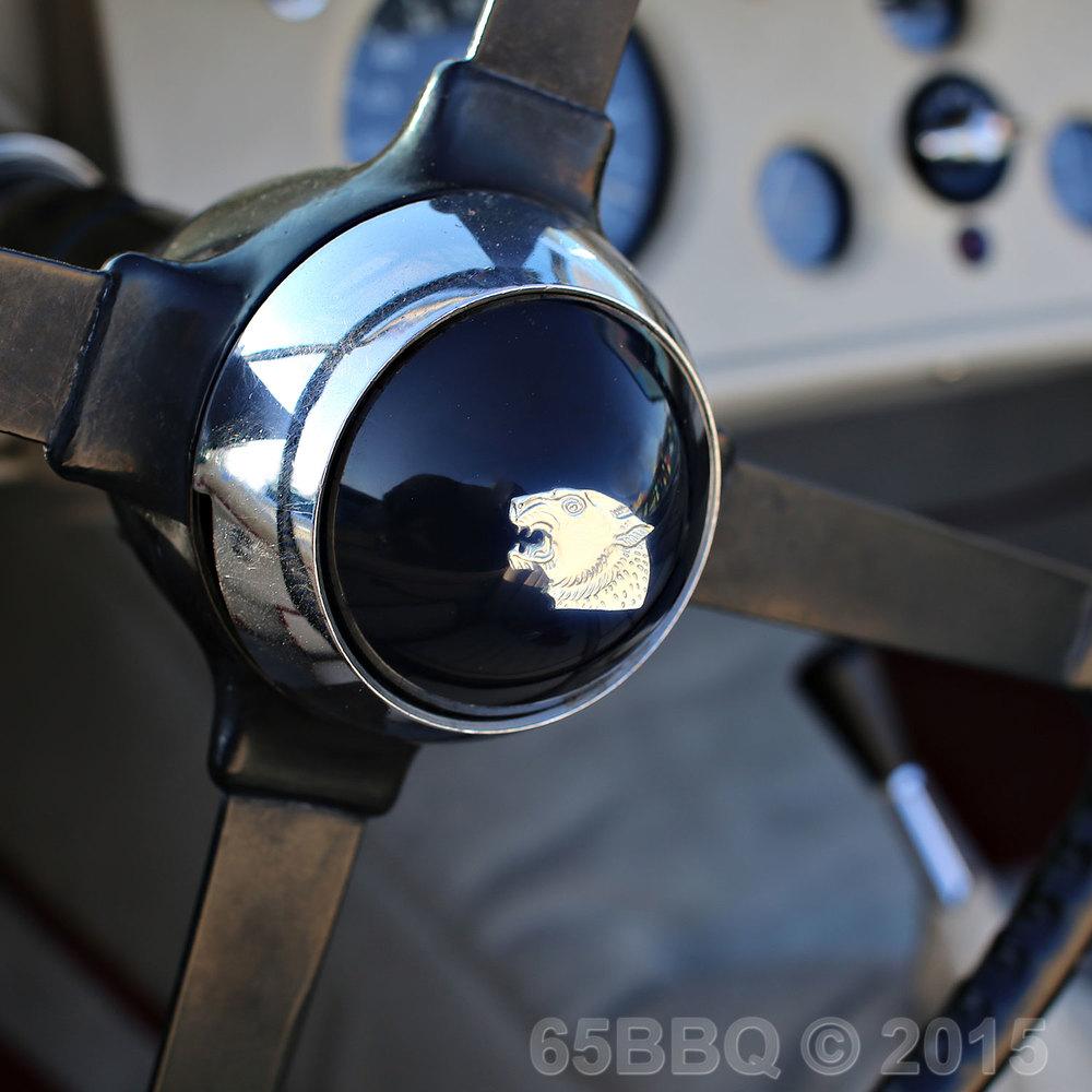 Pomona Swap Meet Jaguar Steering Wheel June 7, 2015