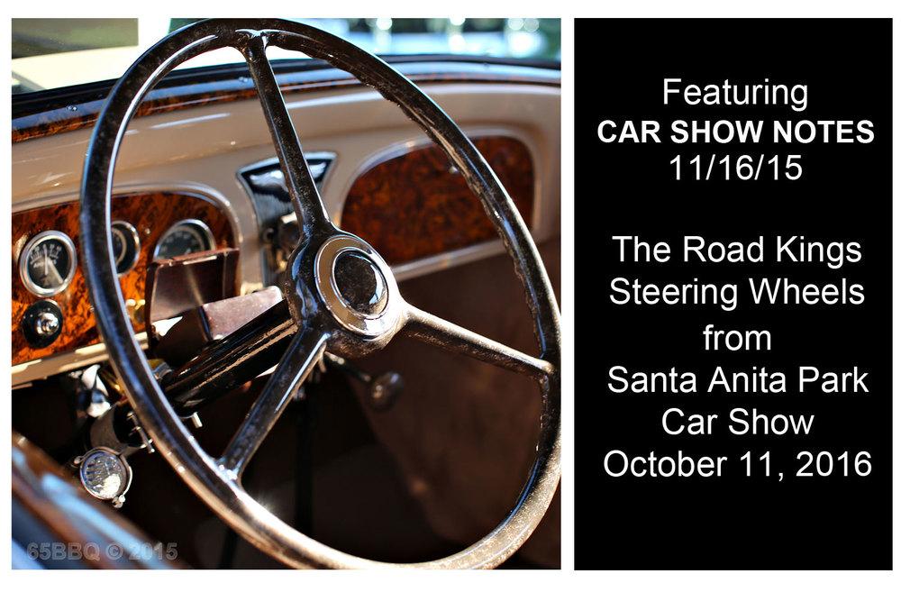 car show notes 11-16 65BBQ