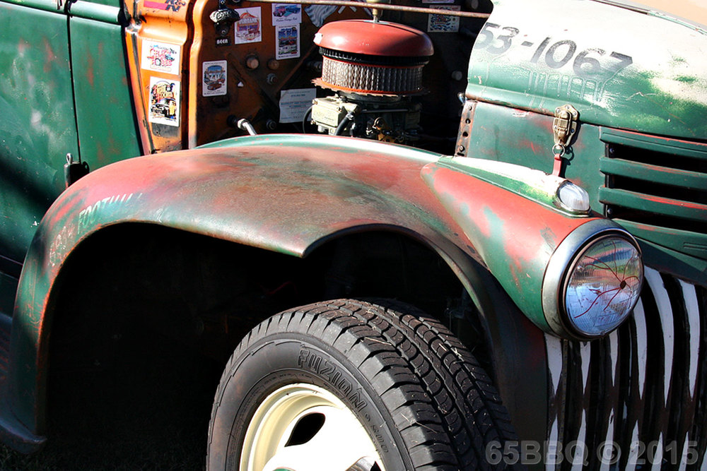 Car Show Notes for October 2015 65bbq