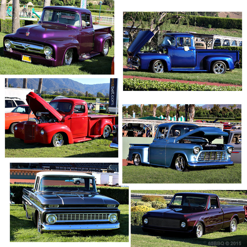 The Road King trucks at Santa Anita Park 65bbq