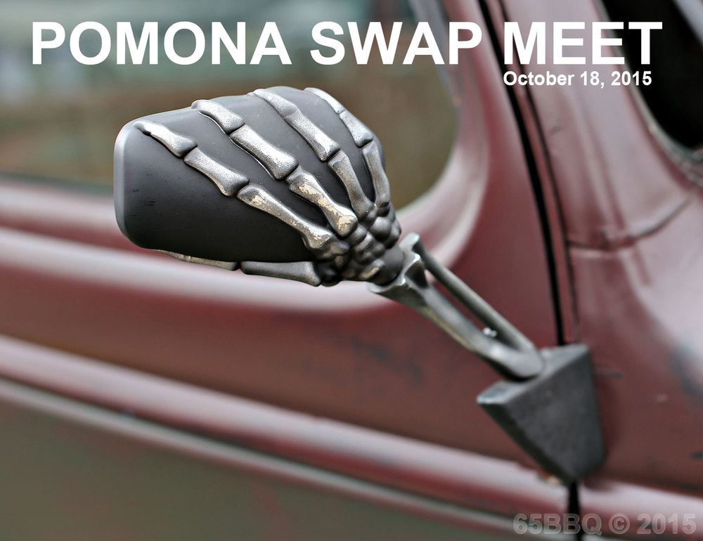 Pomona Swap Meet 10/18/15 65bbq