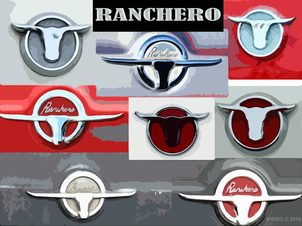 Ranchero Emblem art 65bbq