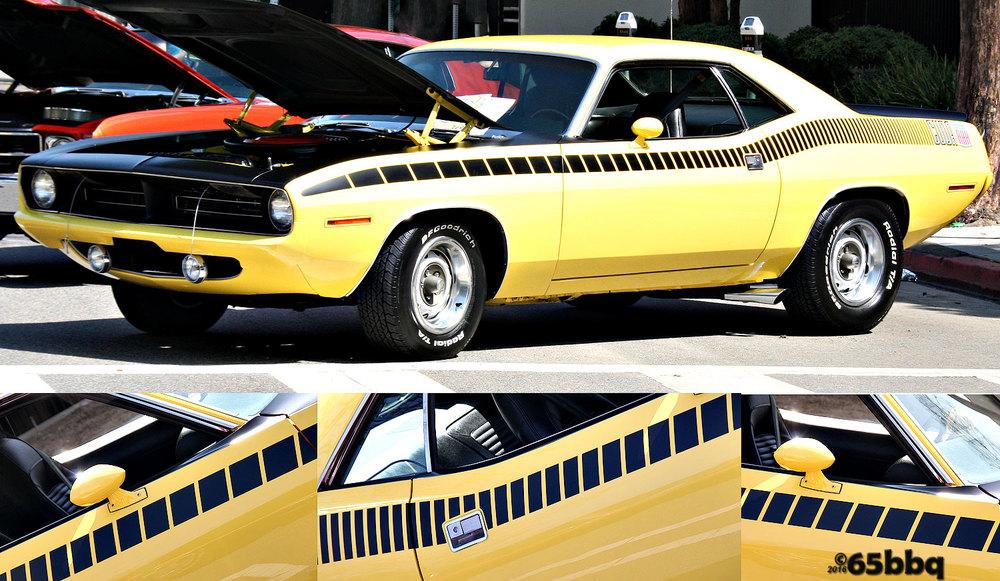 Plymouth' Cuda 65bbq