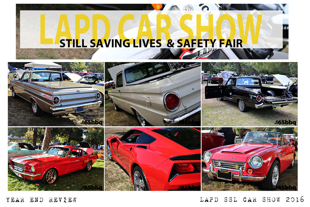 LAPD still saving lives car show 65bbq