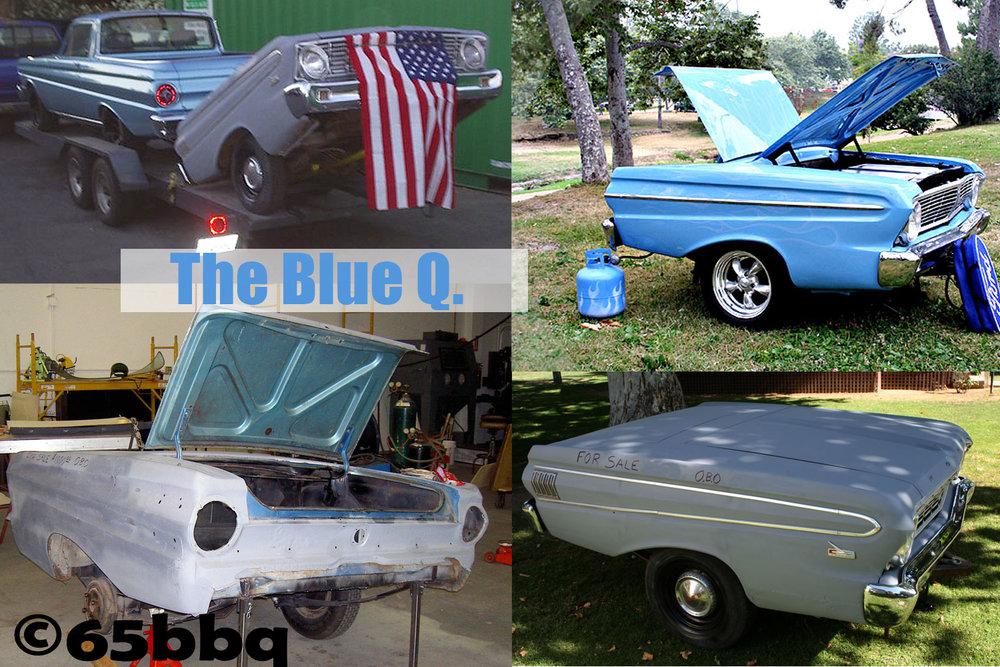 The blue q 65bbq