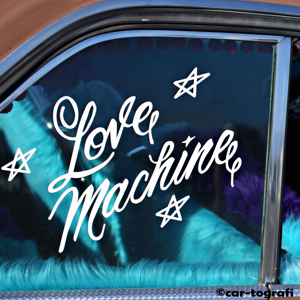 The love Machine at the la roadster show car-tografi