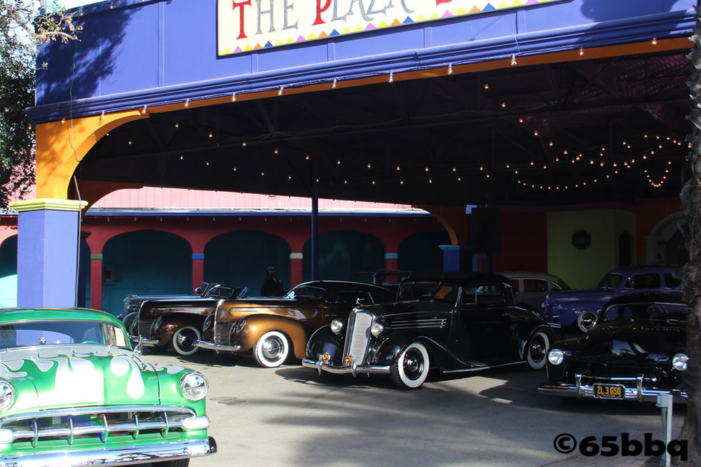Roadsters at Pomona