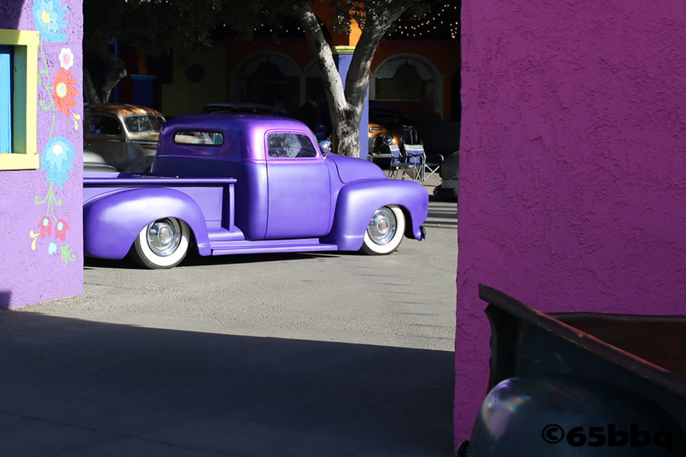 Purple Truck Showcase