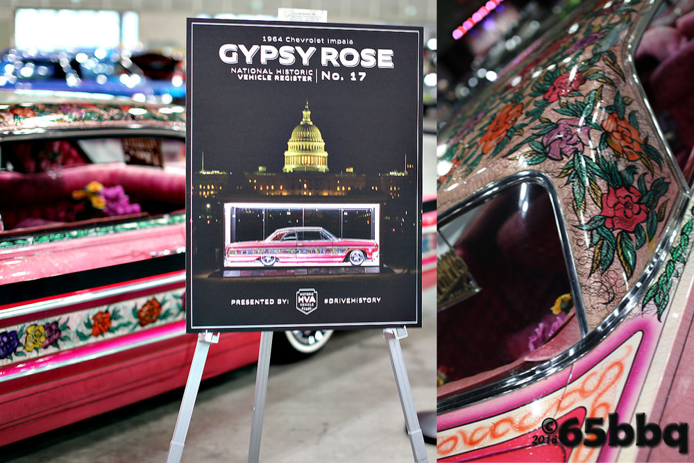 Gypse Rose Chevy Impala