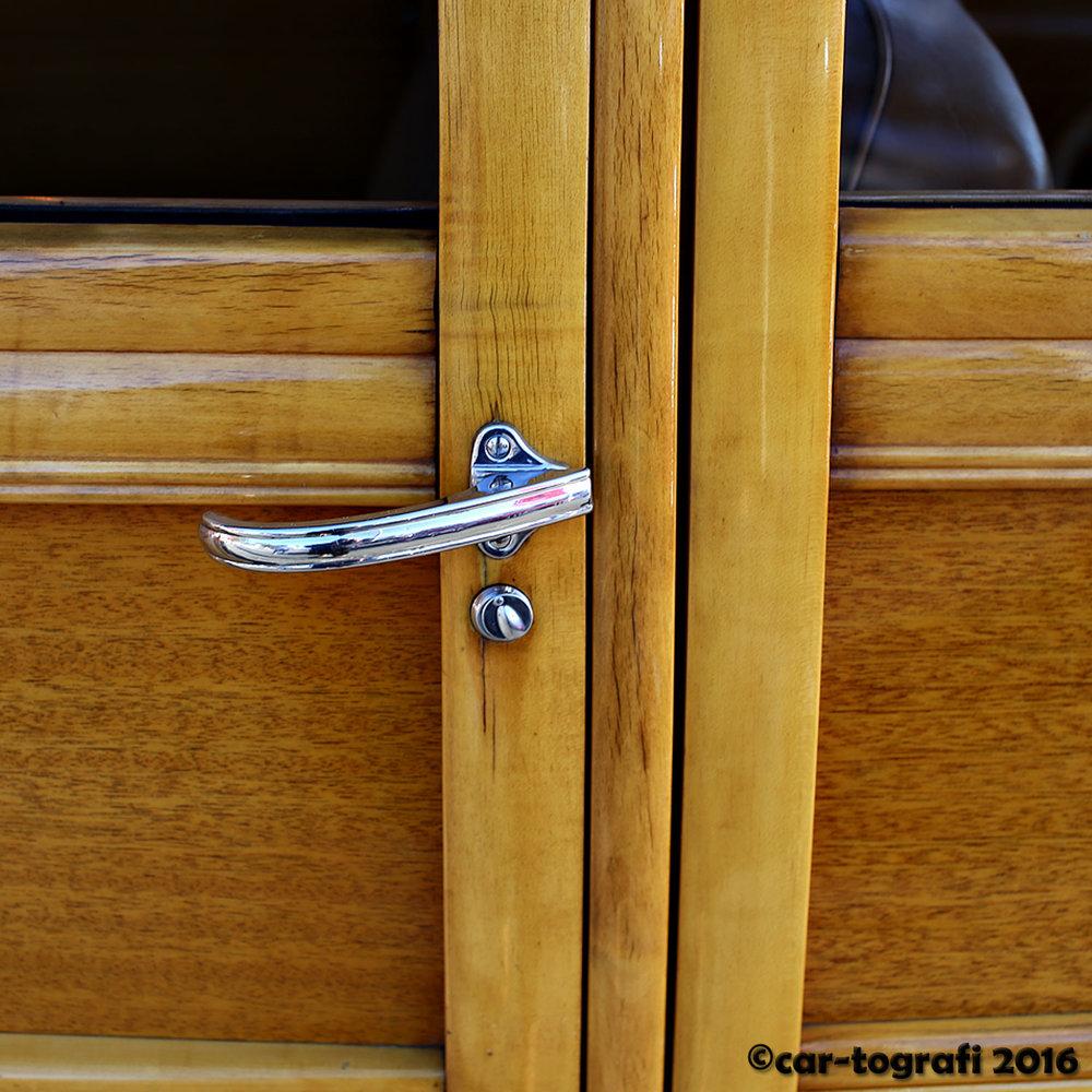 Wood door panels.