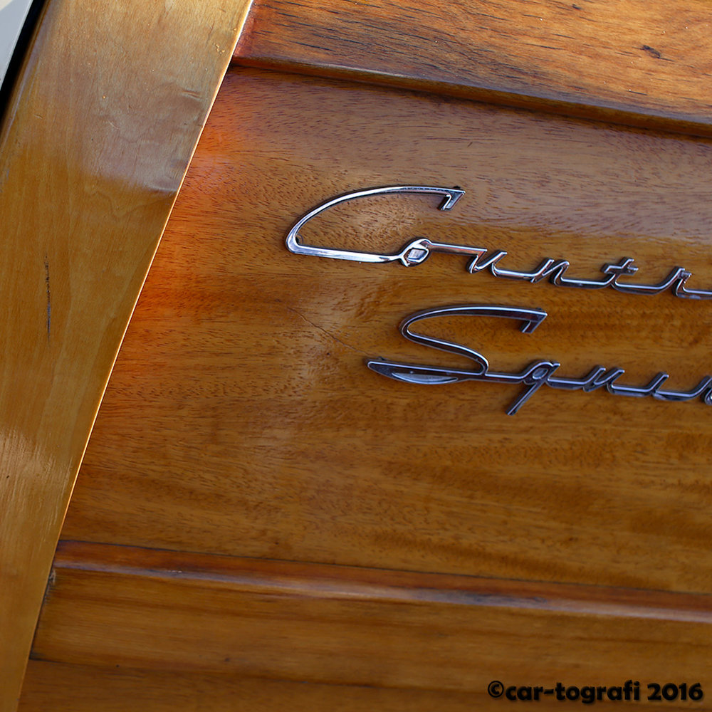Country Squire Woodie Panels