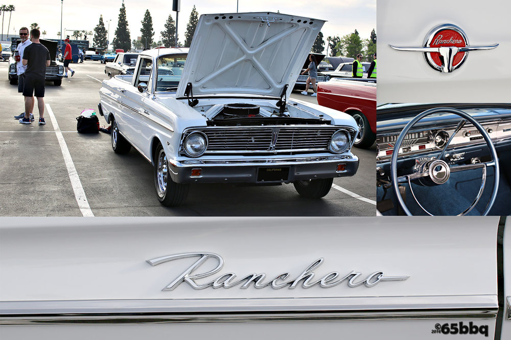 Ford Ranchero at the Fabulous Fords Car Show 65bbq