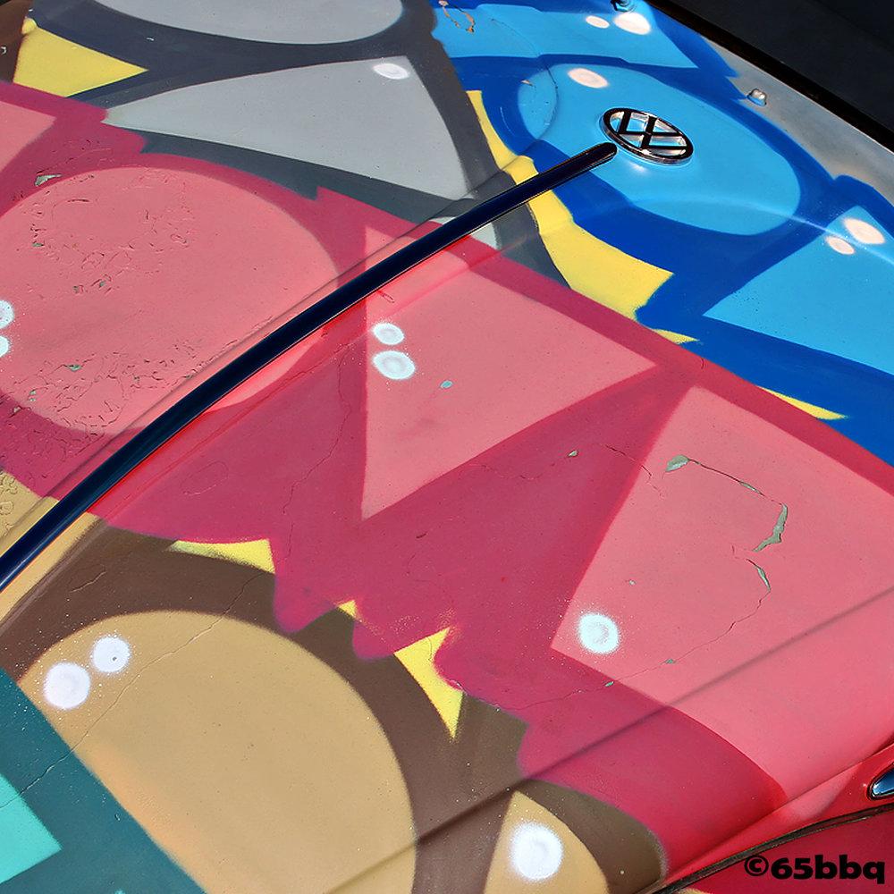 VW bug Pomona Swap Meet 65bbq