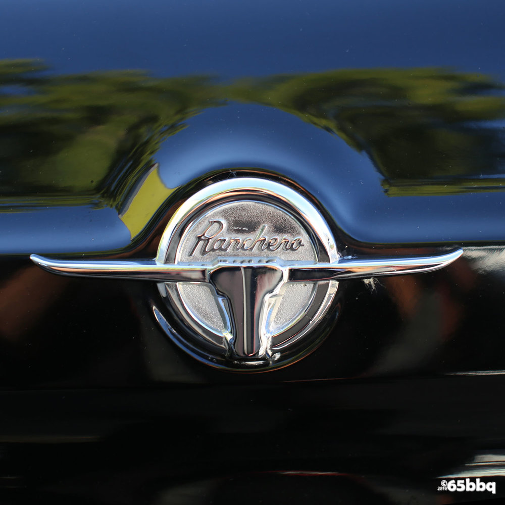 The Ford Ranchero Emblem 65bbq