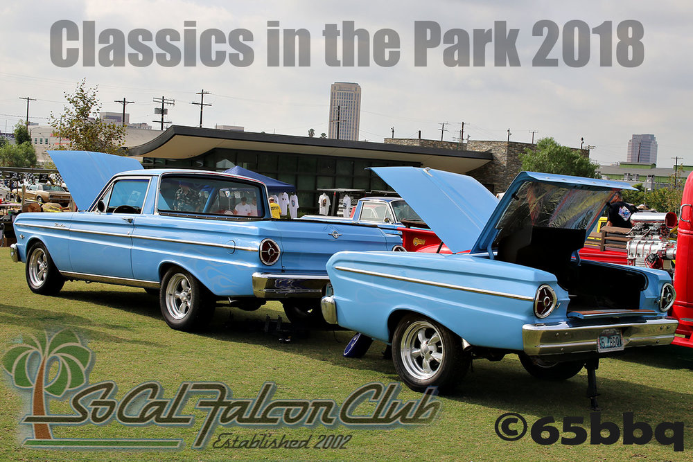 So Cal Falcon Club Classics in the Park 2018