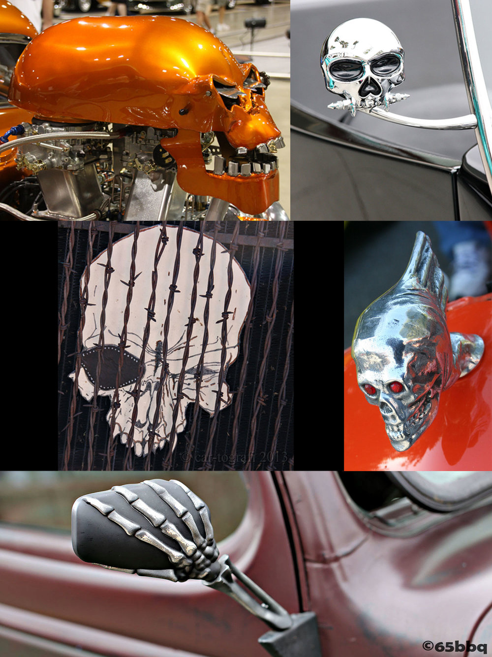 Skeletons and skulls are mixing it up 65bbq.