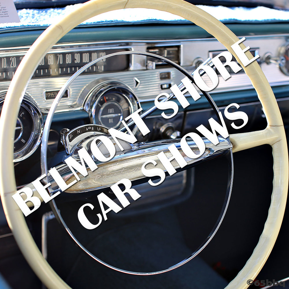 BELMONT SHORES CAR SHOW